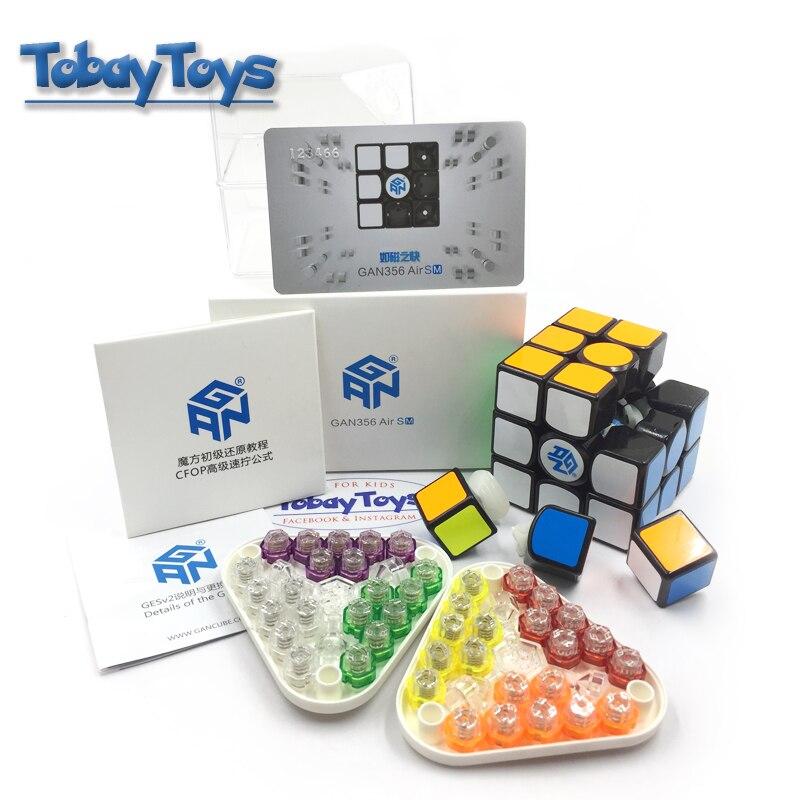 Cube magique Gan 356Air SM Vitesse Concours Créatif de Rubi Avec Gan Magnétique Classique 3x3 Cube Jouets 356 air SM Cubo De Rabie Cube