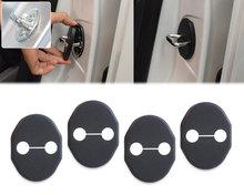 DWCX Car Door Striker Cover Lock Protector Antirust Case for Mazda 2 3 CX-5 Mitsubishi Lancer 2010 +