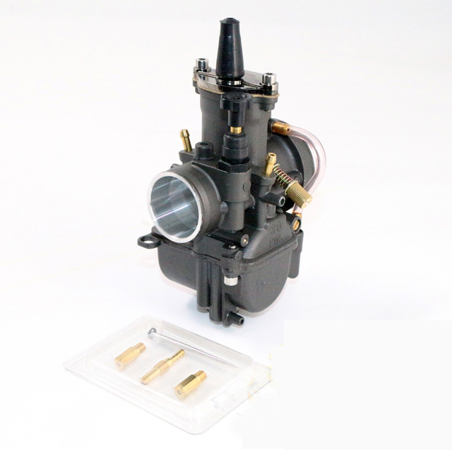 SUPER PERFORMANCE RACING Carb Black PWK Power Jet Carburetor 28mm 30mm 32mm 34mm Motorcycle Scooters dirt bike ATV OEM OKO KOSO