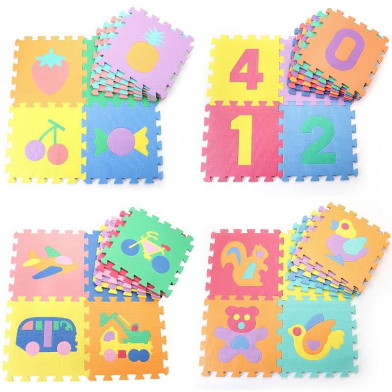 Baby Soft Foam Alphabet Number Mat Kids Diy Floor Puzzle
