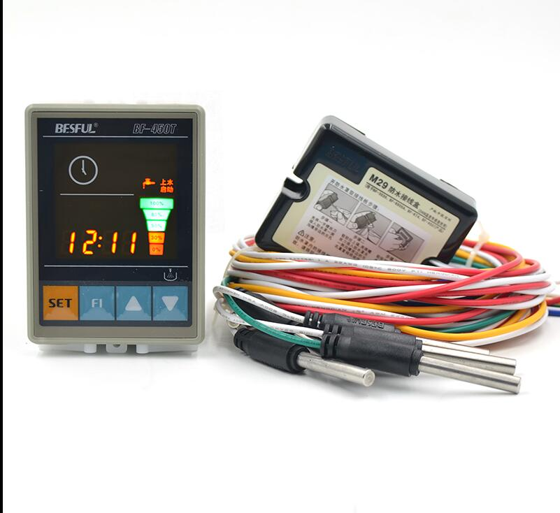 Free shipping Bihe BF-450T Timed Level Controller Digital Display Water Level Control Switch free shipping electronic water level controller atc60a03 gprs rtu controller