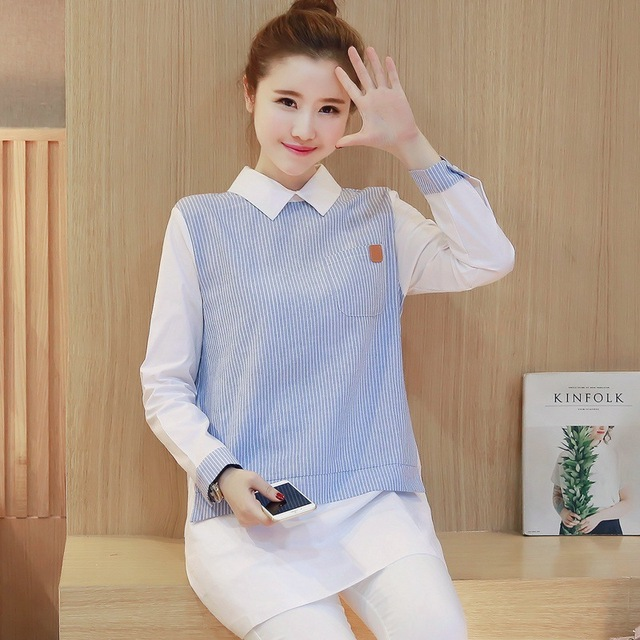 a5659272480a8 Casual Nursing Dress Breast Feeding Clothes for Pregnant Women Blue Breastfeeding  Clothing Dress Y9252yg
