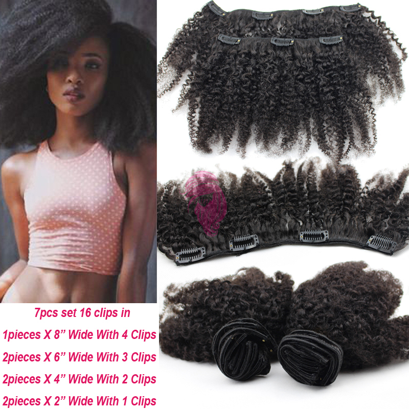 6a virgin mongolian afro kinky curly clip ins african american 6a virgin mongolian afro kinky curly clip ins african american clip in human hair extensions for black women clip on hair pieces on aliexpress alibaba pmusecretfo Choice Image