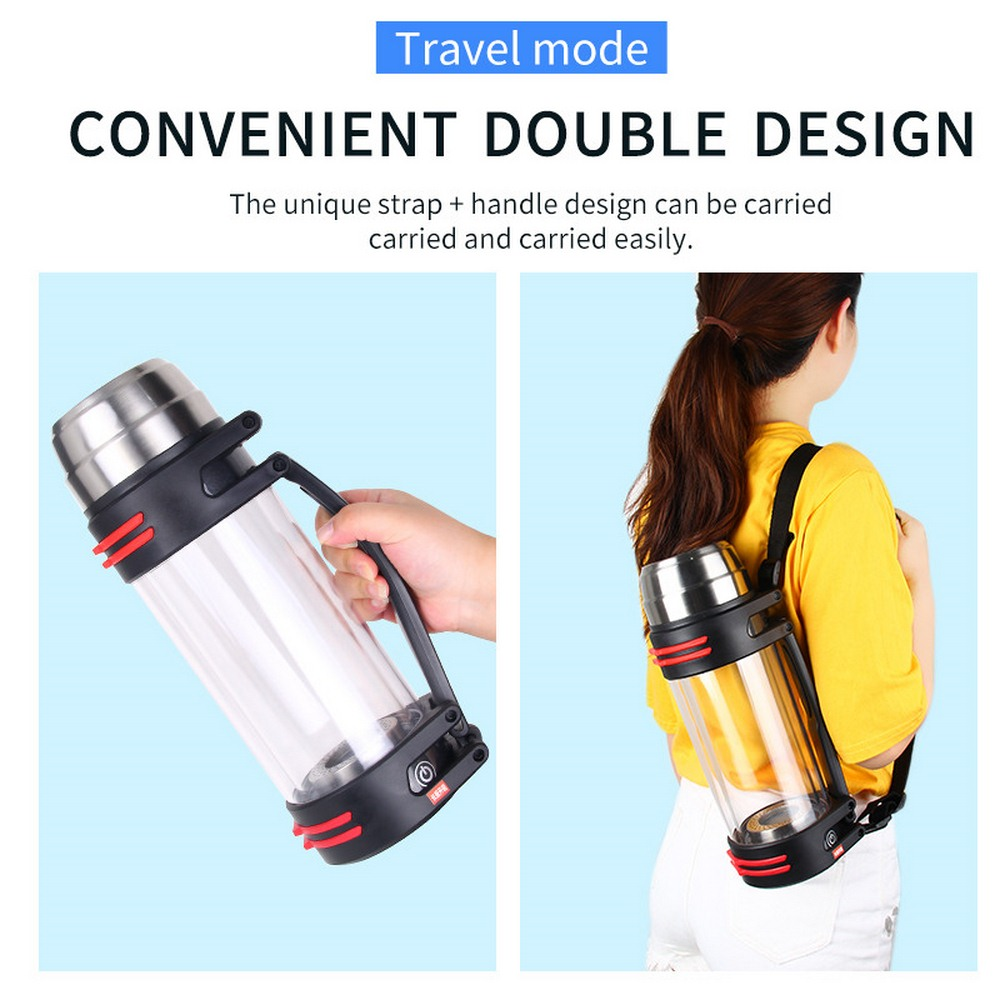 1.5L богатая бутылка водорода воды щелочной ионизатор воды фильтр воды напиток водородный водонагреватель 110 V/220 V - 4