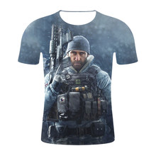 Compare Prices on Rainbow Six Siege T Shirt- Online Shopping