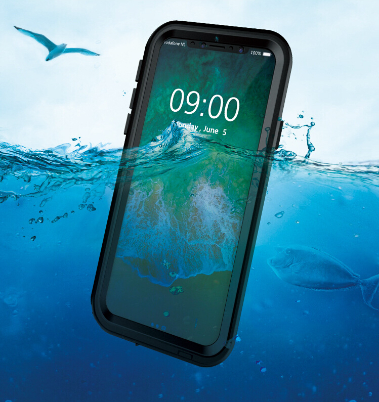 Heavy Duty Protection IP68 Waterproof PET Case for iPhone 6 6s 7 7plus 8 8Plus Cse Outdoor Sports Case Sealed Cover Mobile Phone