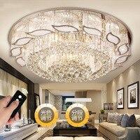 Золотой Кристалл Потолочный светильник Гостиная Plafonnier светодио дный Deckenleuchte светильник Plafonnier светодио дный Moderne Plafondlamp потолочные светильн