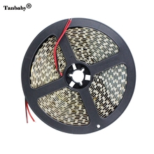 LED strip 2835 12V flexible light 120led/m 5m/lot White Warm white Blue Green Red Yellow LED Ribbon Flexible Lights