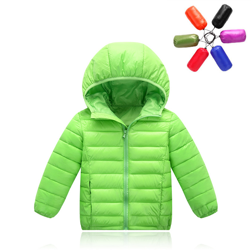 Girl Winter Down Jackets Children Coats Warm Baby 90% White Thick Duck Down Kids Outerwears For Waterproof Jacket + Storage Bag fashion boys down jackets coats for winter warm 2017 baby boy thick duck down coat real fur children outerwears for cold winter