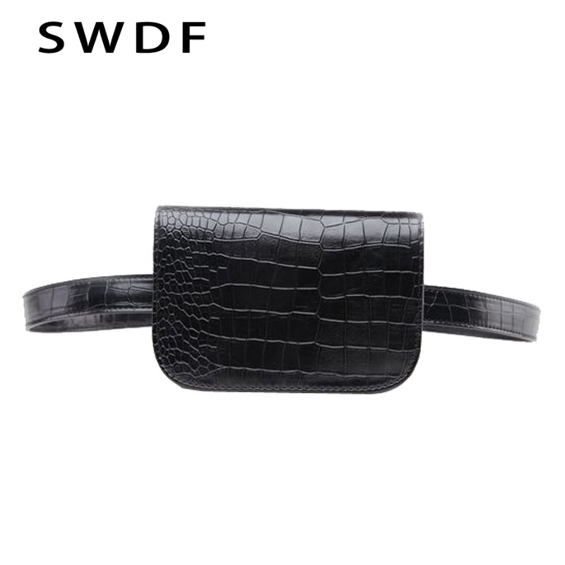 SWDF Vintage Waist Bag Women Alligator PU Leather Belt Bag Waist Pack Travel Belt Wallets Fanny Bags Ladies Fit 5.5 inches phoneSWDF Vintage Waist Bag Women Alligator PU Leather Belt Bag Waist Pack Travel Belt Wallets Fanny Bags Ladies Fit 5.5 inches phone