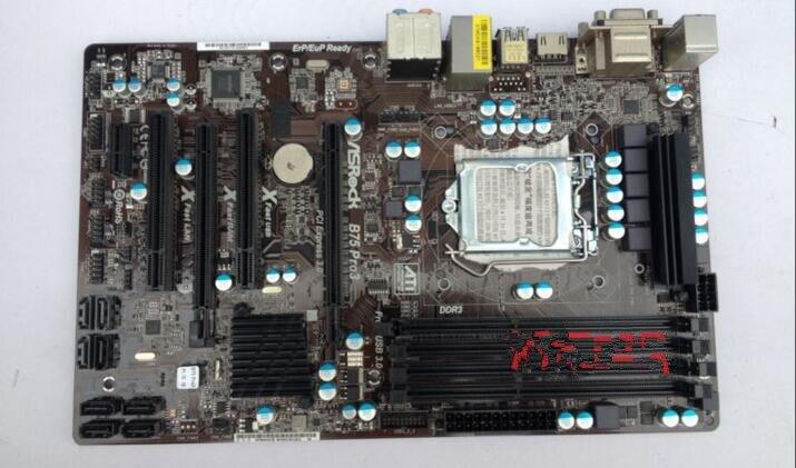Free shipping computer motherboards for ASRock B75 Pro3 motherboard LGA1155 DDR3 32G free shipping original motherboard for asus p8p67 le ddr3 lga 1155 ram 32g motherboards sata3 0 usb3 0 mainboard