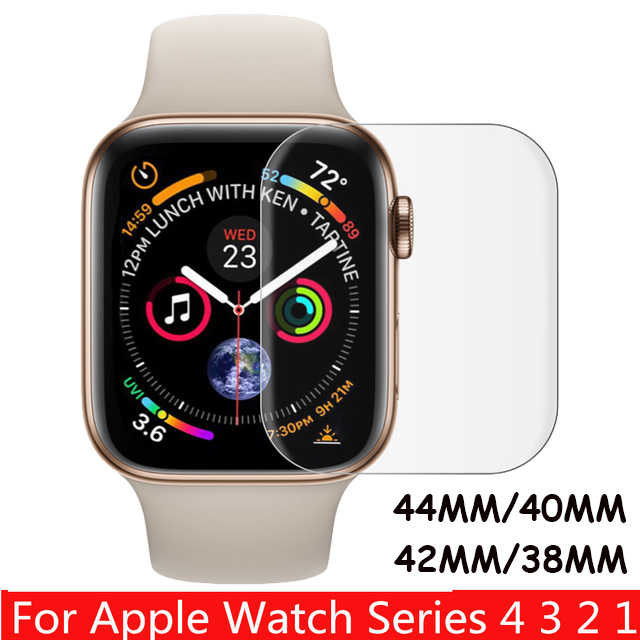9H Protective Tempered Glass For Apple Watch Series 1 2 3 4 Screen Protector Shock-Proof Film For iwatch 44mm 40mm 38mm 42 mm