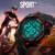 Mens Relógio Marca de Topo Mens Relógios Desportivos LED Relógio Digital relógios de Pulso dos homens de Moda Ao Ar Livre À Prova D' Água Relogios Masculino