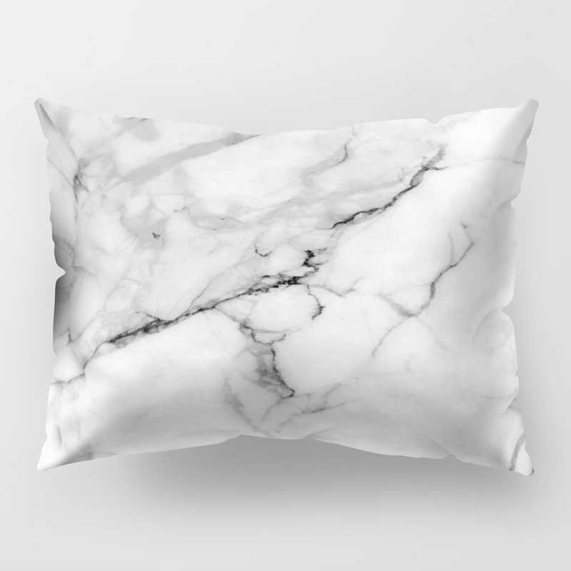 50*30cm Pillow Case Marbling Printed Cushion Cover Pillowcase For Couch Sofa Bed Home Decoration 669