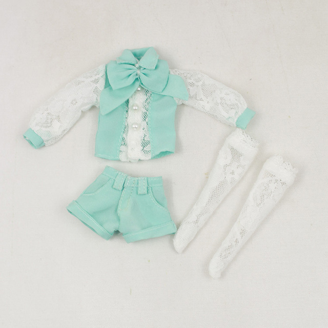Neo Blythe Doll Summer Suit With Long Sleeve