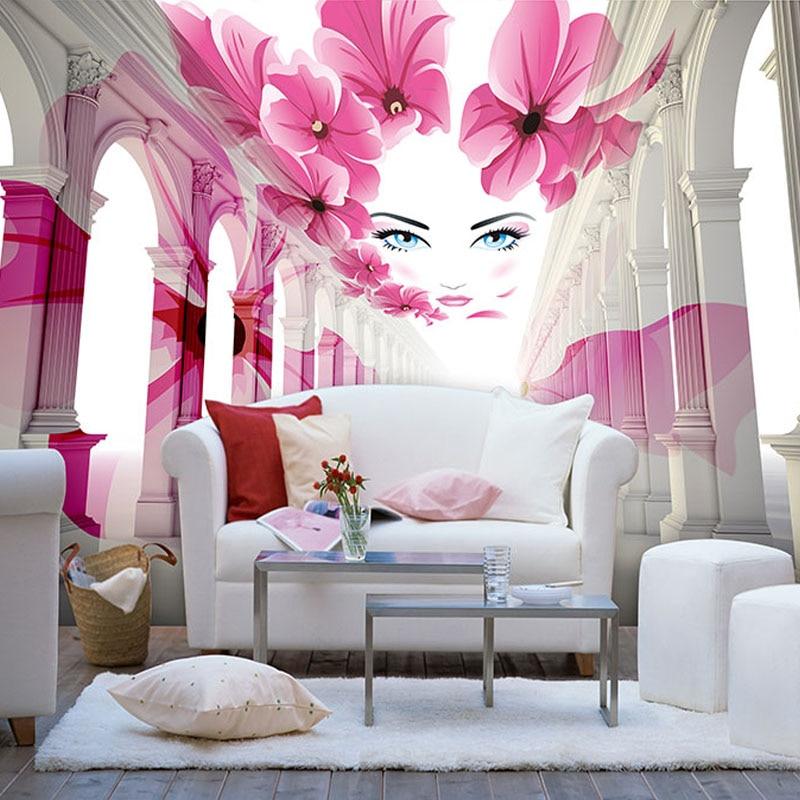 Custom 3D Mural Wallpaper Modern Art Abstract Space Wall Painting ...