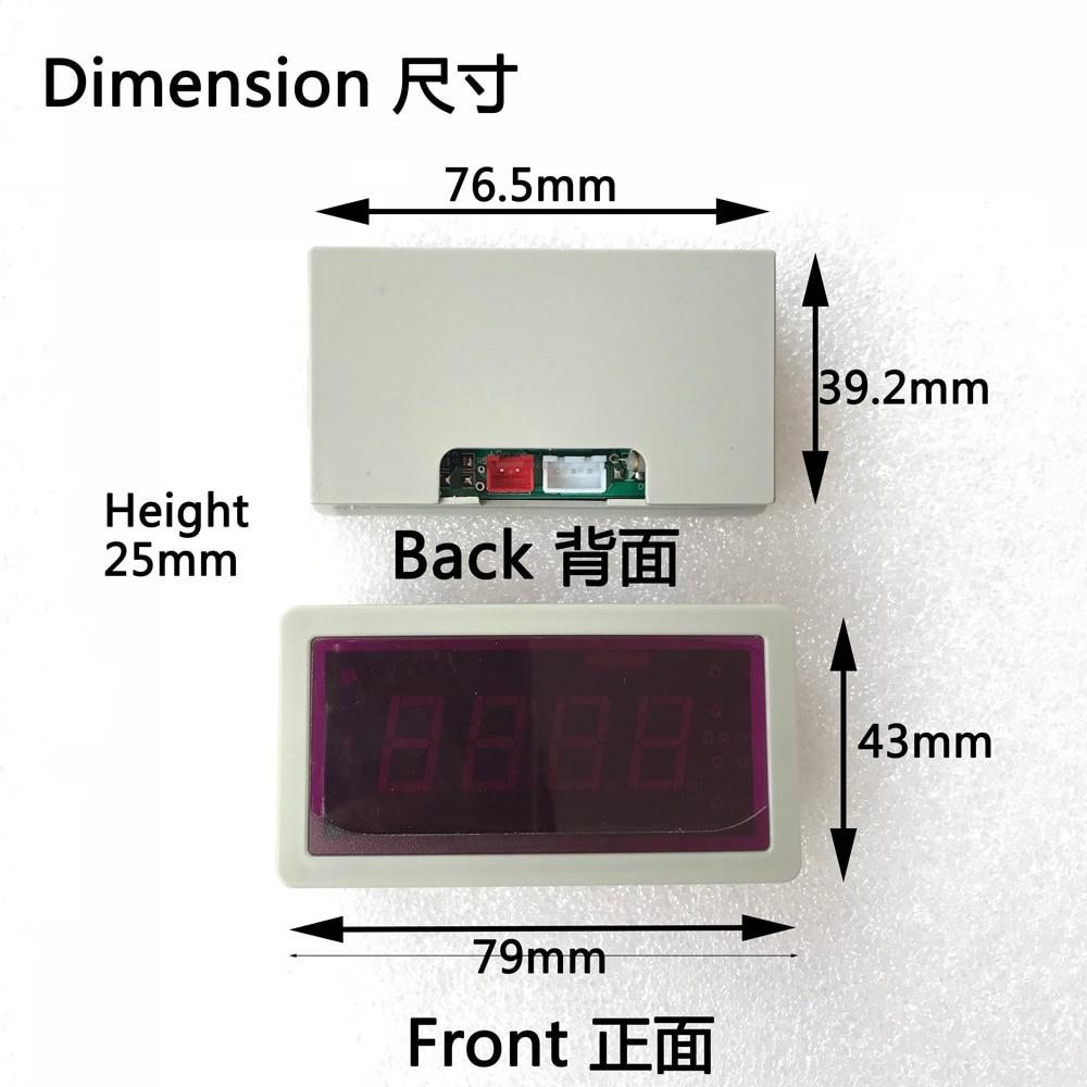 US208MA + USN-HS06PA-1 0.15-1.5L / min sensor de flujo Medidor de - Instrumentos de medición - foto 6