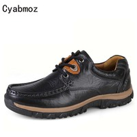 Cyabmoz Brand Big Size 38 47 Male Shoes Casual Fashion Men S Genuine Leather Moccasin Luxury