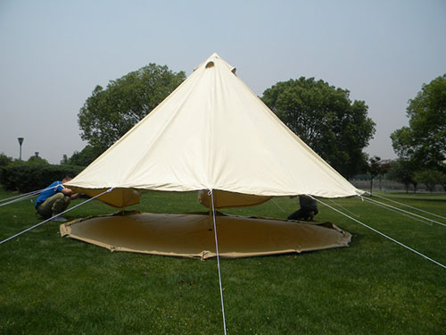 2016 High Quality Bell tent/Tipi tent 5 8 person 4 season