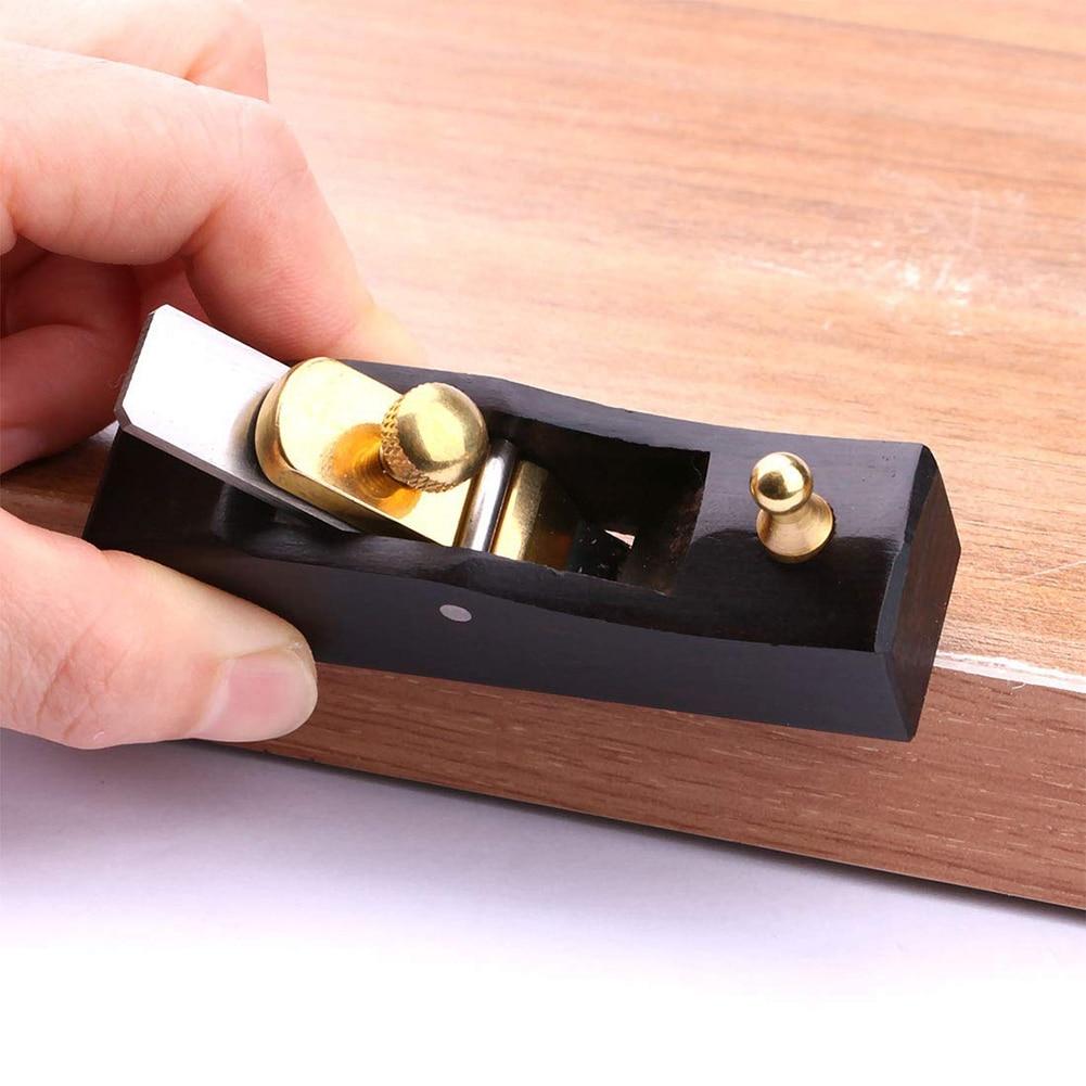 Mini Holz Hobel Hand Werkzeug Flach Boden Holz Trimmen Flugzeug für Holzbearbeitung Holz Hobeln PAK55