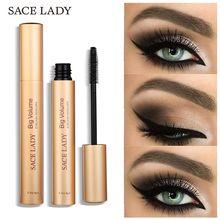 SACE LADY Curling Eyelash  Mascara Waterproof Rimel Eyelash Extension Black Thick Lengthening Eye Lashes  MakeUp Eyelash Mascara цена