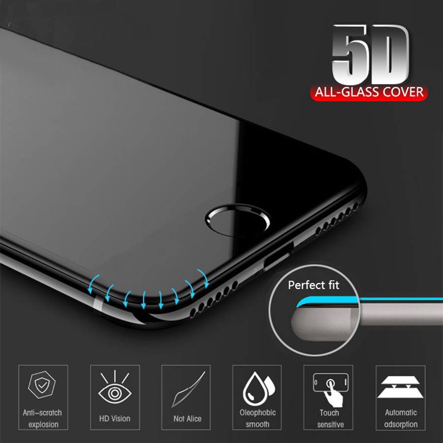 LGYD 25 PCS 9H 5D Full Glue Full Screen Tempered Glass Film for Huawei P20 Lite//Nova 3e