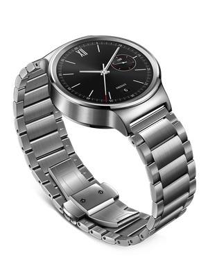 Aço inoxidável ligação smart watch band para huawei smart watch band original borboleta fivela faixa de relógio