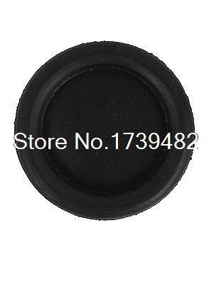 5pcs Black Rubber Closed Blind Blanking Hole Wire Cable Gasket Grommets 60mm