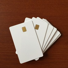 Wholesales Contact IC blank card SLE4428 Contact IC Smart Card printable customized design