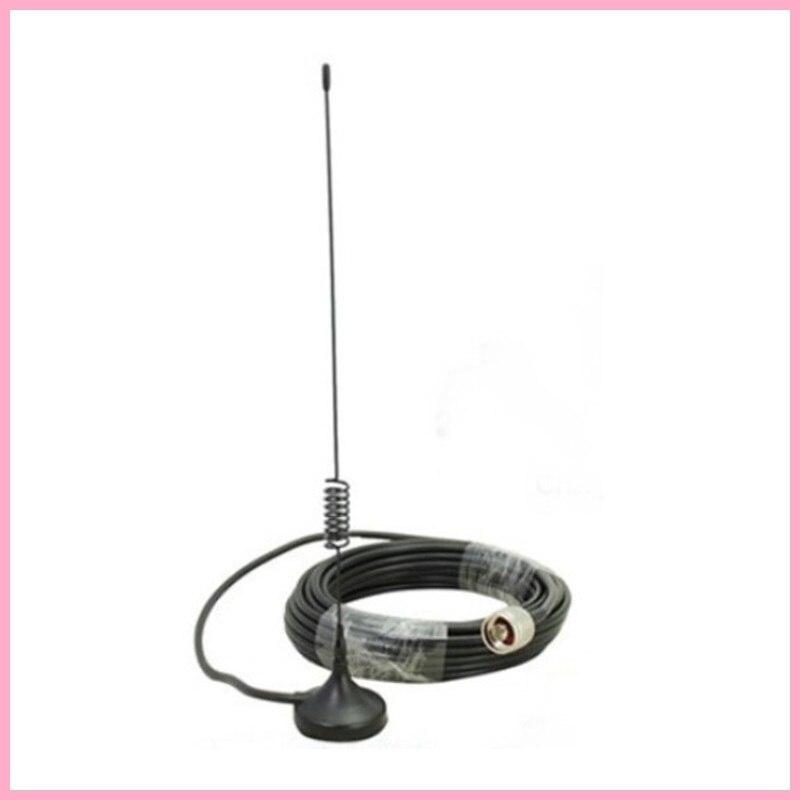 Accessoire pour Téléphone portable Signal Booster Répéteur Antenne Externe N mâle avec 10 m câble pour 2G 3G CDMA GSM WCDMA 850-2100 mhz