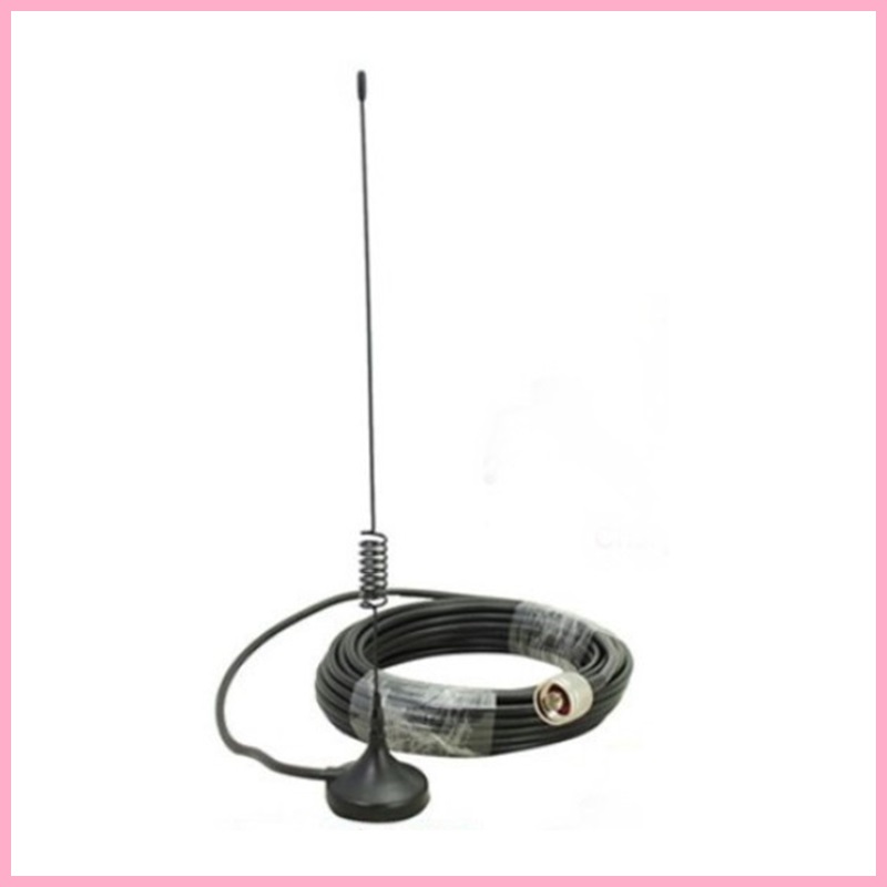 Accessory for Cell Phone Signal Booster Repeater External Antenna N male with 10m cable for 2G 3G CDMA GSM WCDMA 850-2100mhz