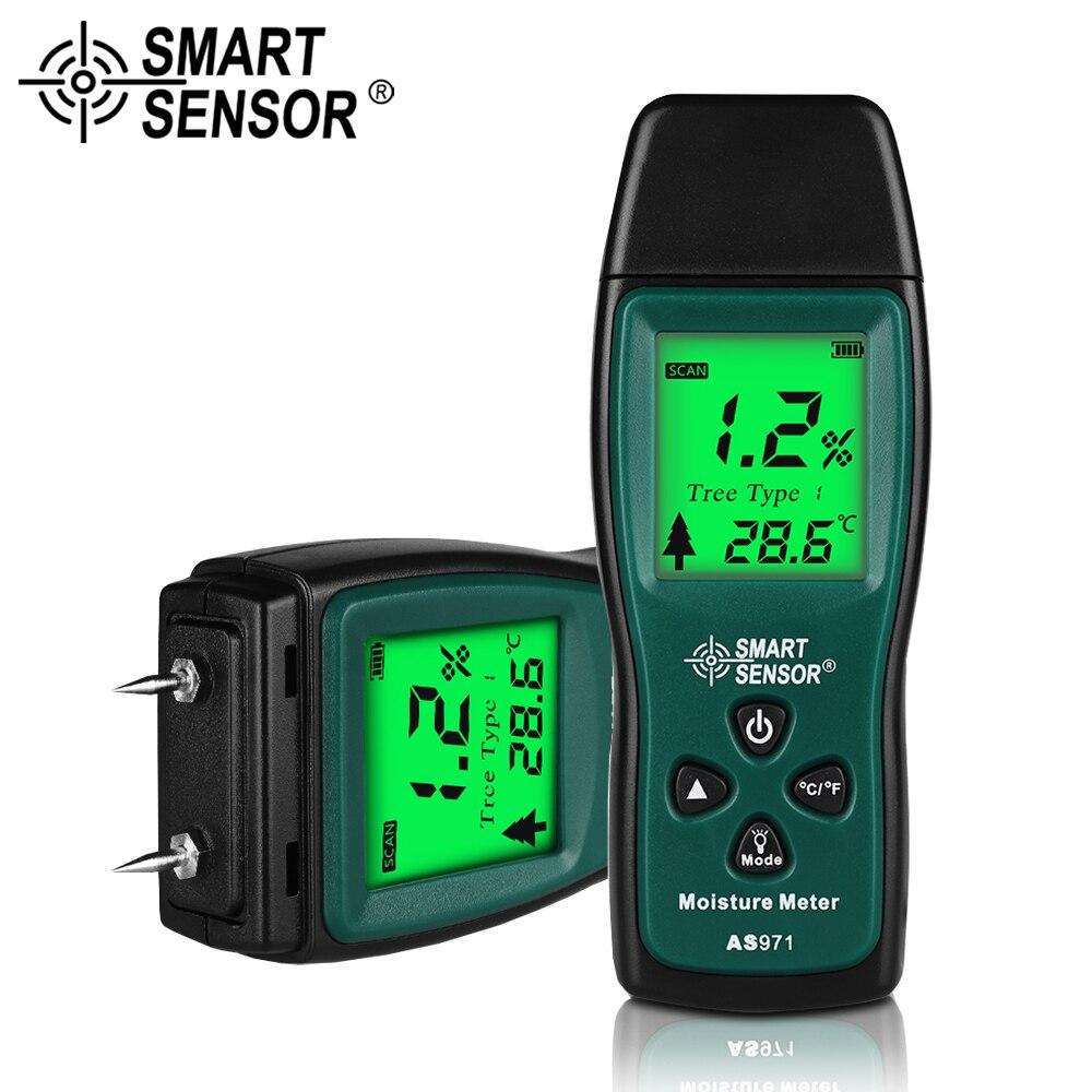 Smart Sensor Holz Feuchtigkeit Meter Feuchtigkeit Meter Vochtmeter