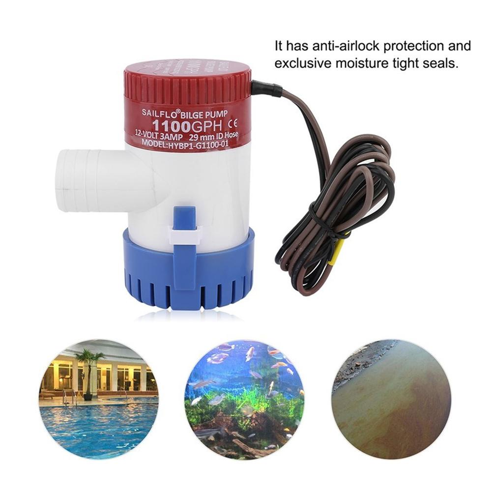 Atv,rv,boat & Other Vehicle Automobiles & Motorcycles Hcsszp Bilge Pump 750gph Dc 12v Electric Water Pump For Aquarium Submersible Seaplane Motor Homes House For Marine Boat