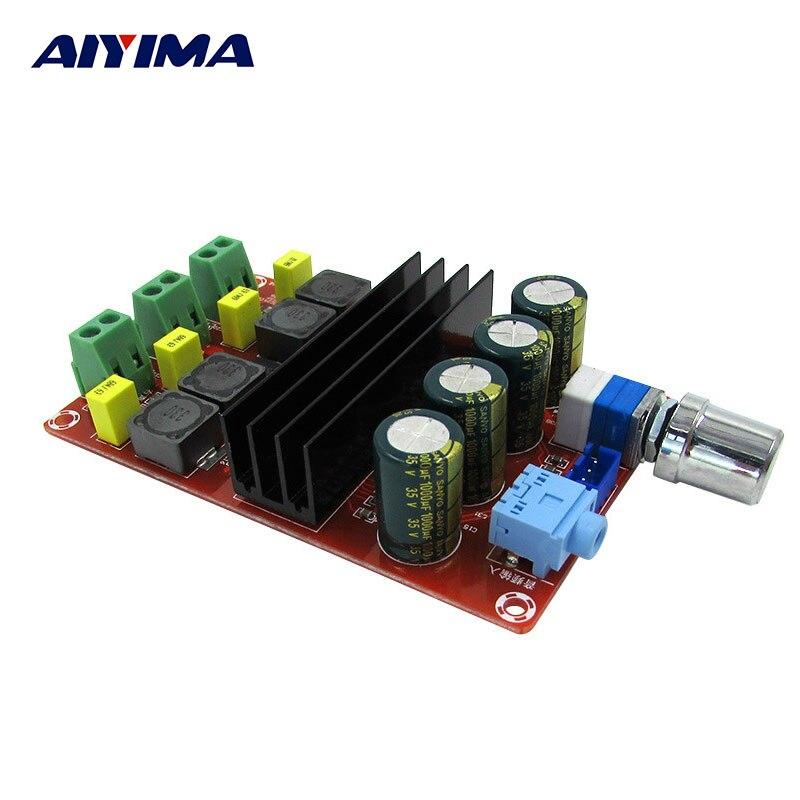 AIYIMA Rohr Digitalverstärker Audio Bord TPA3116 Power Audio Amp 2,0 Class-d Verstärker Stereo HIFI verstärker DC12-24V 2*100 Watt