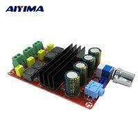 AIYIMA Tube Numérique Amplificateur Audio Conseil TPA3116 Puissance Audio Amp 2.0 Classe D Amplificateurs Stéréo HIFI amplificateur DC12-24V 2*100 W