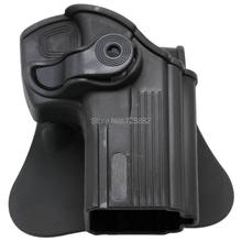 Tactical Pistol Paddle Handgun Holster Right Handed Holster Fit for Taurus 24/7 Taurus 24/7-OSS Free Shipping(China)