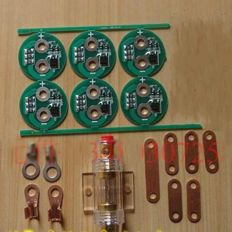 Super Farah capacitor protection board  Connect the copper PCB charge and discharge protection board 320pc capacitor discharge welding studs ws 320