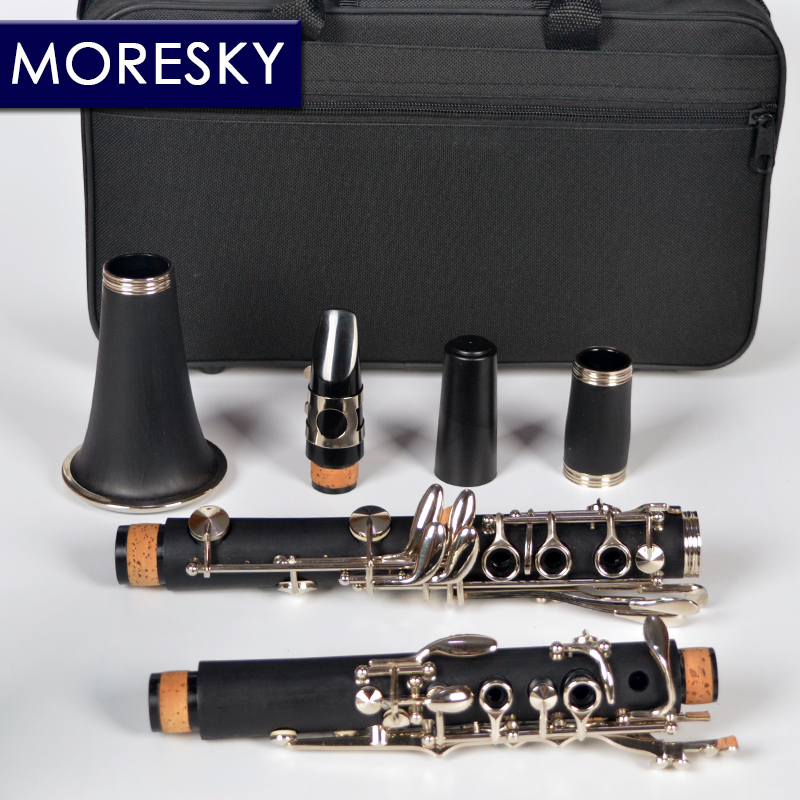MORESKY Clarinette 17 Clé Tomber Air B/ABS tuyau matériau produit Clarinette - 4