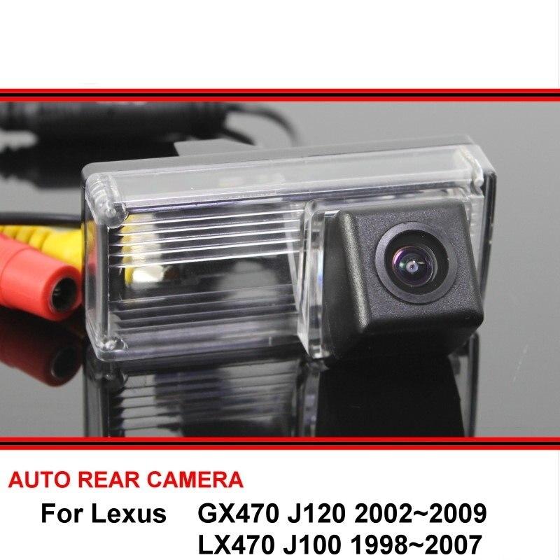 For Lexus GX 470 GX470 LX 470 LX470 00-09 Night Vision Rear View Camera Reversing Camera Car Back Up Camera HD CCD Wide Angle