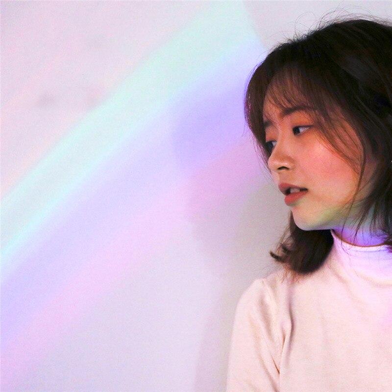 Rainbow Projector Shell Rainbow Light Rechargeable Rainbow Night Light festive atmosphere romantic projector in LED Night Lights from Lights Lighting