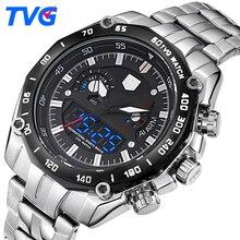 TVG Luxury Brand Watch Men Digital Waterproof Men Sports Watches Military Men's Quartz Date Clock Wrist Watch Relogio Masculino