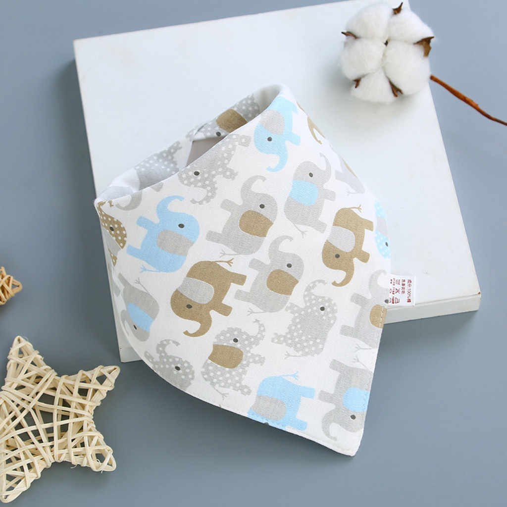 Baby Bibs Stuff Baberos Cotton biberon Baby  Boys Girls Bandanas Bebes High Quality Saliva Towel Dribble Bandana Bibs
