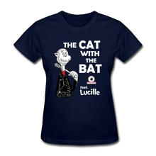 Personalized The Cat With The Bat Shirts for Woman Screen Outfits  sexy women Tops tshirt Printer