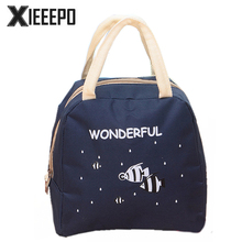 Women Portable Insulated Lunch Bags Cartoon Animals Thermo Cooler Bags Thermal Food Picnic Kids Girl Lunch Insulation Ice Pack