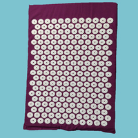 Massager Appro 67 42cm Massage Cushion Acupressure Mat Relieve Stress Pain Acupuncture Yoga Mat