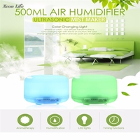 168 Color Changing Light 500ML Electric Aroma Essential Oil Diffuser Air Humidifier For Home Ultrasonic Mist