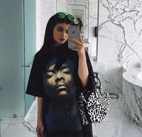 Momoluna New 2017 Woman Men harajuku SNOOP DOGG Head Print Oversize Loose Tshirt T shirt Tops Tee Shirt Femme Camiseta M L XL