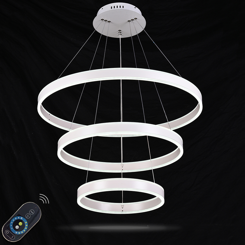Dimmable LED Pendant Lights Modern LED Pendant Lights Hanging Lamp for Living room Aluminum Pendant Lighting with Remote customized 3d photo wallpaper 3d floor painting wallpaper 3 d stereo floor tile only beautiful flowers 3d living room decoration