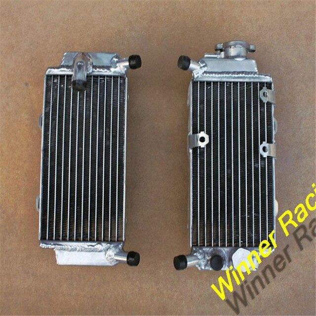 Алюминиевый радиатор w/вентилятор кронштейн и переключатель босс Для honda CRF250X 2004-2013