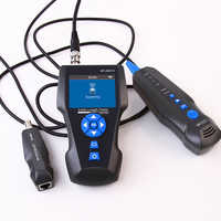 RJ45 RJ11 TDR Netwerk LCD Kabel Tester NF-8601S Multi-Functionele Tracker voor BNC Handheld Metalen Kabel PING/POE testing Tool